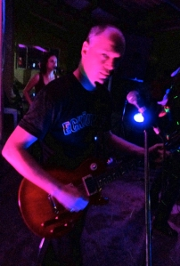 COLIN PEDDIE - lead guitar